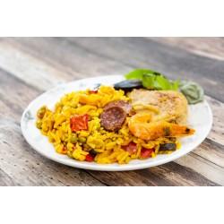 Paella Valenciana - Plats cuisinés - MonBeauPoisson.fr