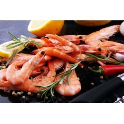 Crevettes 60/80 cuites - Crustacés - MonBeauPoisson.fr