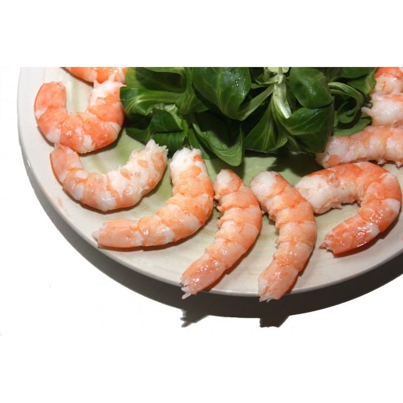 Grosses Crevettes Décortiquées Cuites - Produits décortiqués - MonBeauPoisson.fr