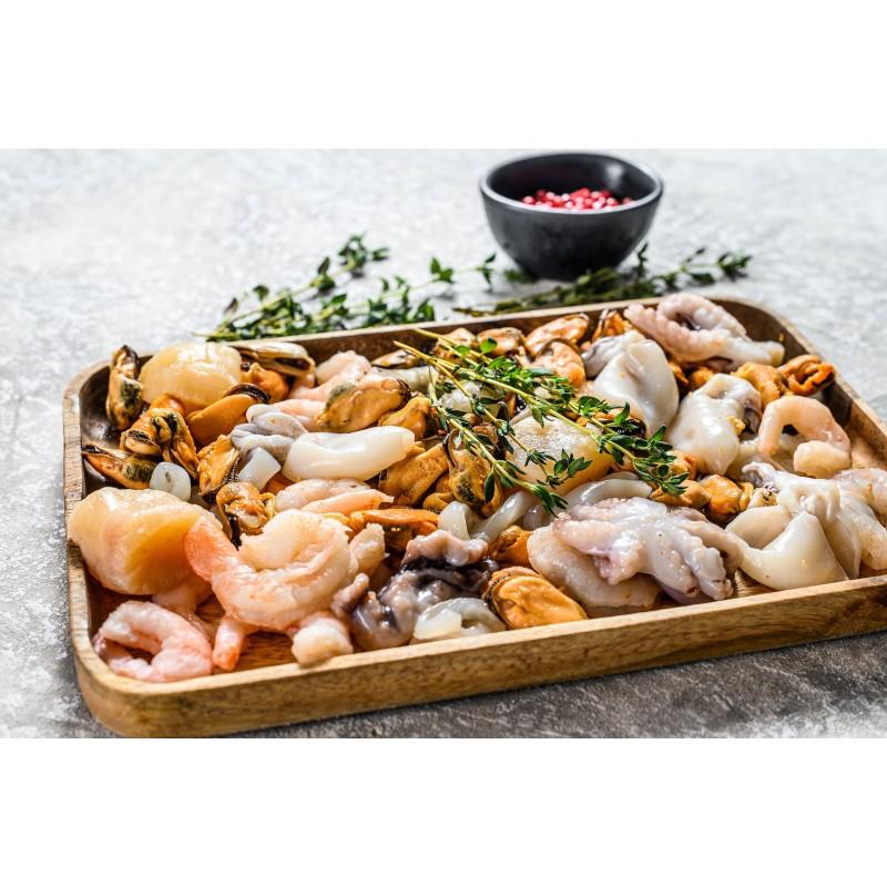 Cocktail de Fruits de Mer - Produits décortiqués - MonBeauPoisson.fr