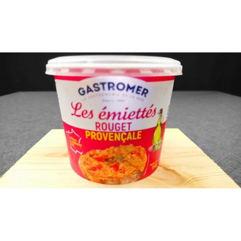 Emiettes de Rouget à la Provencale - Produit à tartiner - MonBeauPoisson.fr