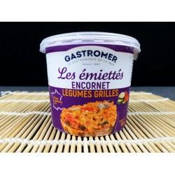 Emiettes d'Encornets aux Légumes Grillés - Produit à tartiner - MonBeauPoisson.fr